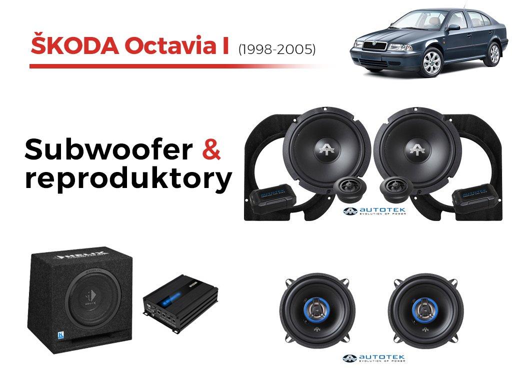 Skoda Octavia I autotek komplet