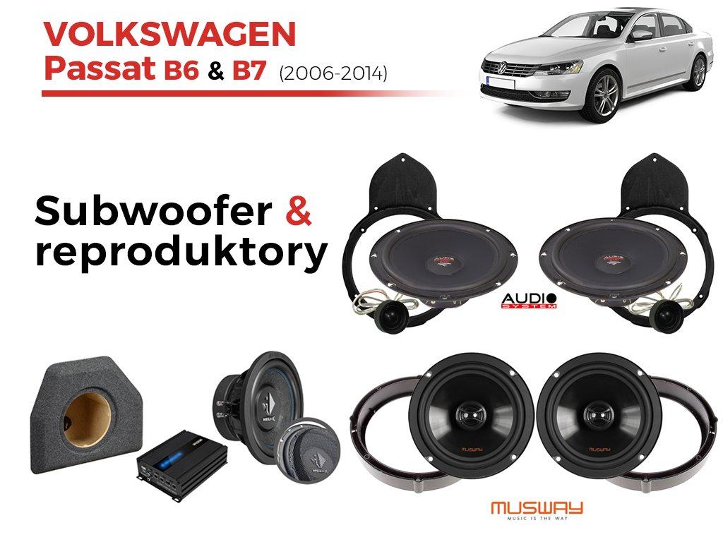 Volkswagen Passat B7 audio sedan
