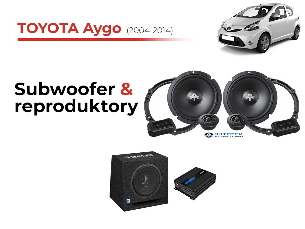 Kompletn U00ed Ozvu U010den U00ed Toyota Aygo I  2004-2014