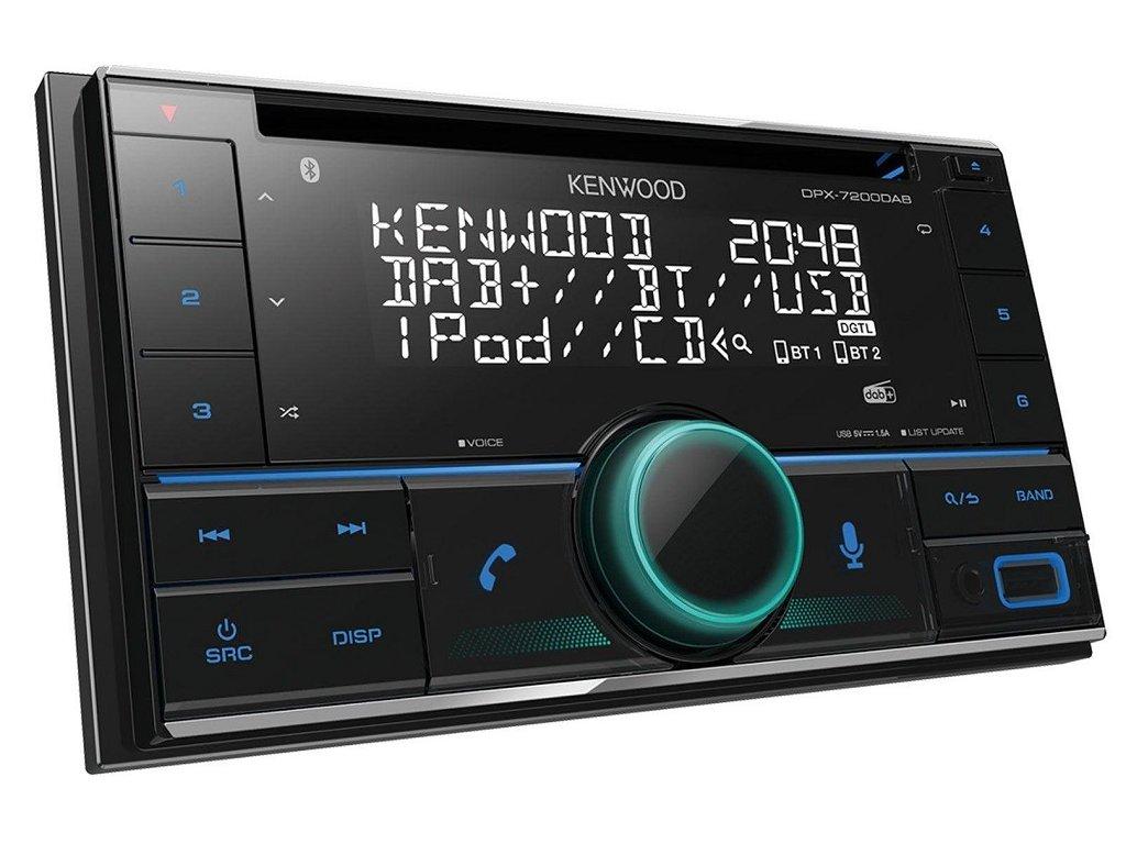 Autorádio Kenwood DPX-7200DAB