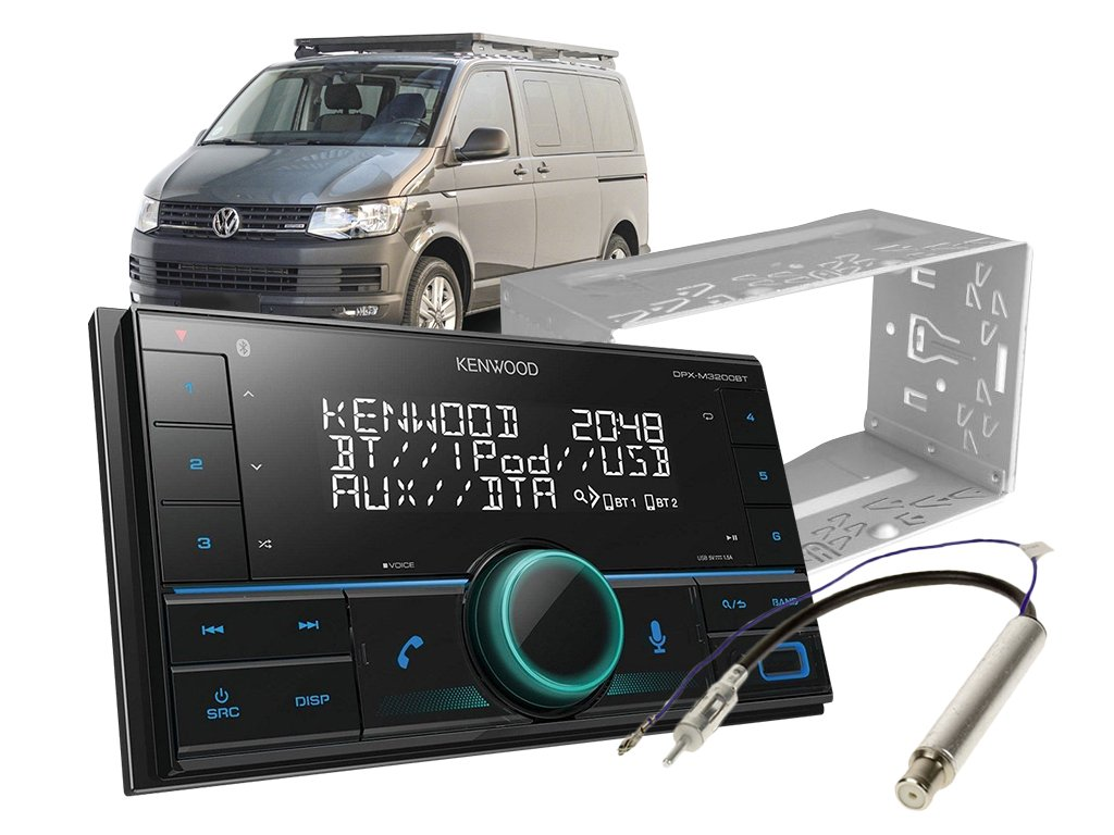 autoradio kenwood set transporter T5