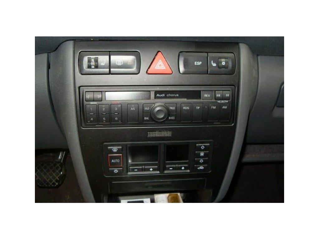 Redukční rámeček 1din pro Audi A2 / A3 / A4 / A6 / TT