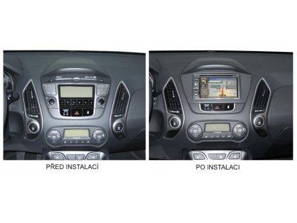 Redukční rámeček 2din pro Hyundai IX35