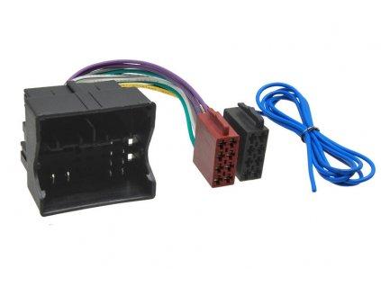 100849 iso adapter pro audi seat skoda vw