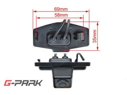 101080 ccd parkovaci kamera honda civic accord
