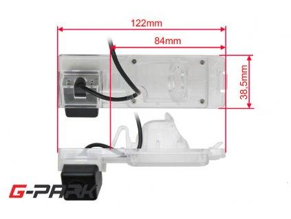 101260 ccd parkovaci kamera mitsubishi l200