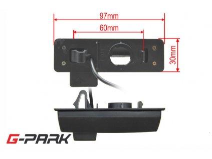 101269 ccd parkovaci kamera mitsubishi grandis