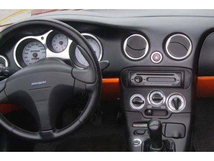 Rámeček autorádia 1DIN - Fiat Barchetta UNI2