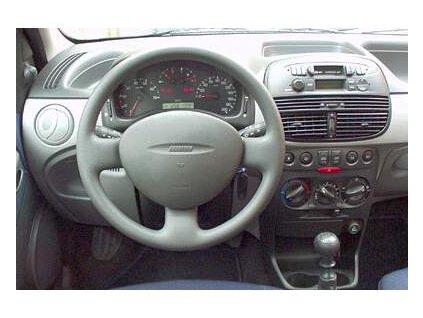 Rámeček autorádia 1DIN - Fiat Punto UNI2