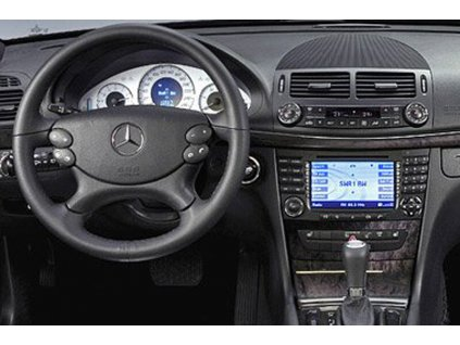 Rámeček autorádia 2DIN - Mercedes E-Class UNI2