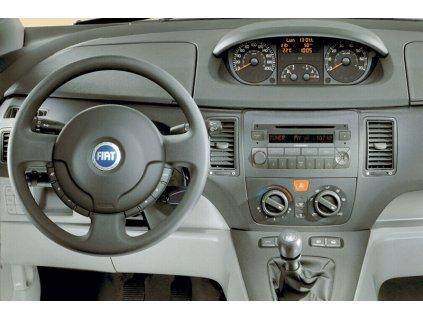 Rámeček autorádia 1DIN / 2DIN - Fiat Idea UNI2