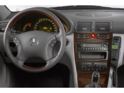Rámeček autorádia 1DIN - Mercedes SLR, C-class UNI2