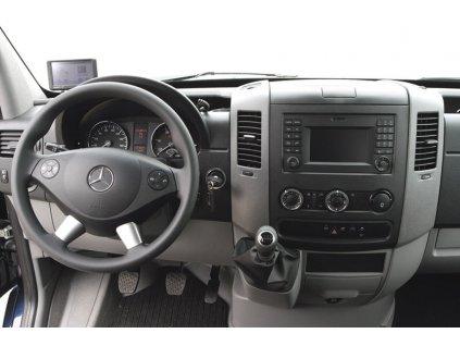 Rámeček 1DIN / 2DIN autorádia Mercedes A / B / Sprinter, VW Crafter