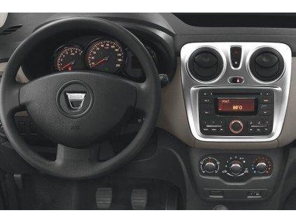 Rámeček autorádia 1DIN - Dacia