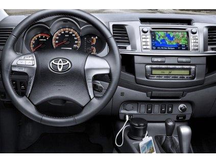 Rámeček autorádia 2DIN - Toyota Hilux UNI2