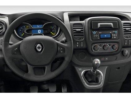 Rámeček autorádia 1DIN / 2DIN - Opel Vivaro / Renault Trafic UNI2