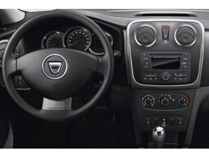 Rámeček autorádia 2DIN - Dacia / Opel / Renault