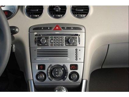 Rámeček autorádia 2DIN - Peugeot 308