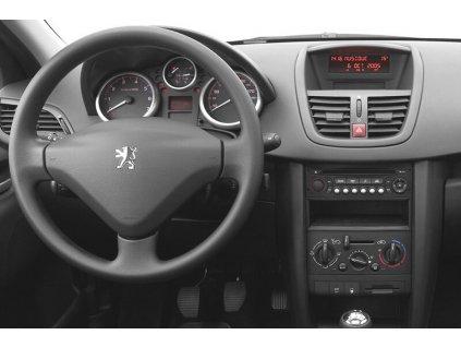 Rámeček autorádia 2DIN - Peugeot / Citroen / Fiat / Toyota UNI2