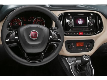 Rámeček autorádia 2DIN - Fiat Doblo / Opel Combo