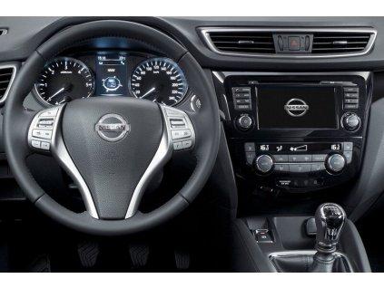 Rámeček autorádia 1DIN / 2DIN - Nissan Qashqai (modely Acenta)