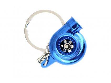 102760 privesek na klice turbo modre