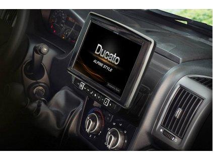 Navigační systém Alpine pro Fiat Ducato 3 / Citroen Jumper 2 / Peugeot Boxer 2