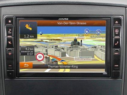105880 navigacni system alpine pro mercedes benz vito 447