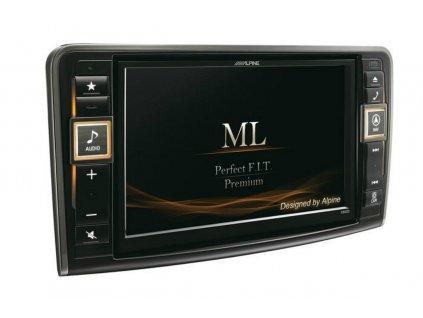 Navigační systém Alpine pro Mercedes-Benz ML (W164) / GL (X164)
