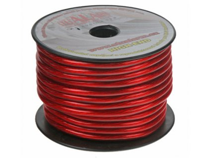 113799 2 napajeci kabel cervene transparentni 10 mm2