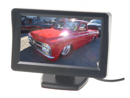 117528 lcd monitor 4 3 cerny na palubni desku