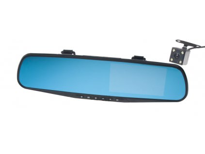 117564 2 kanalova full hd kamera integrovana v zrcatku s 4 3 lcd