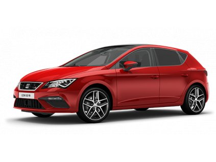 new seat leon 5 doors desire red