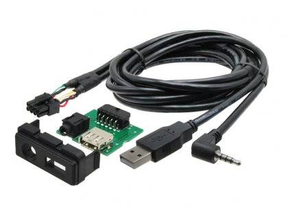 USB+JACK konektor Mazda