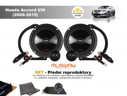 26949 2 set predni reproduktory do honda accord viii 2008 2015 musway