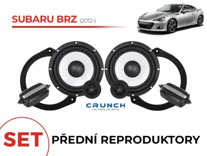 Subaru BRZ crunch predni