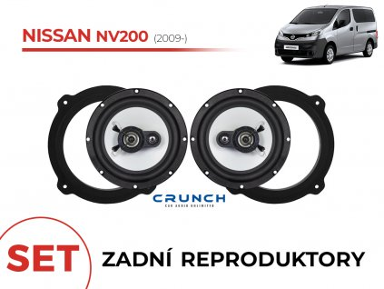Nissan NV200 crunch zadni