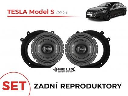 Tesla model S helix zadni