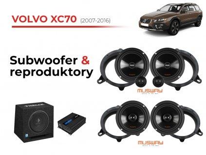 Volvo XC70 msw komplet