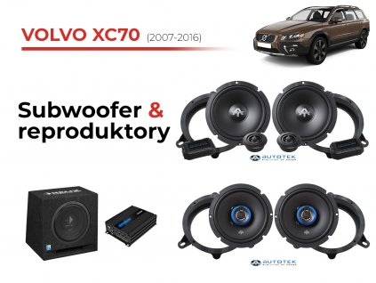 Volvo XC70 atk komplet