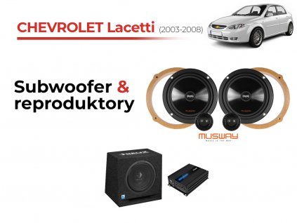 Chevrolet Lacetti musway komplet