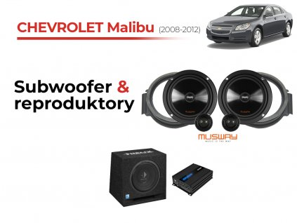 Chevrolet Malibu musway komplet