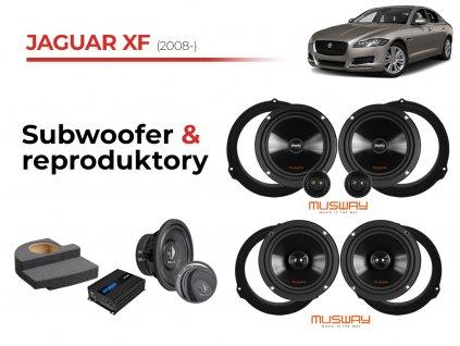 Jaguar XF musway komplet