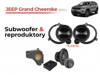 Jeep Grand Cheeroke musway komplet
