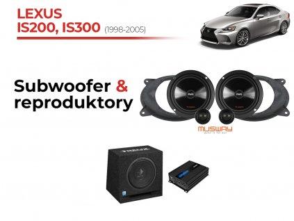 Lexus IS200 300 msw komplet