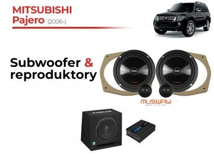 Mitsubishi Pajero msw komplet
