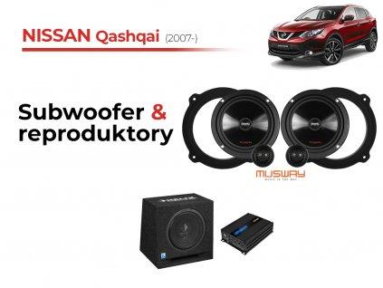 Nissan Qashqai msw komplet