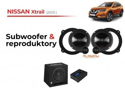 Nissan Xtrail msw komplet