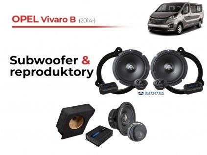 Opel Vivaro B atk komplet