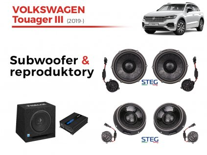 Volkswagen Touager III steg komplet